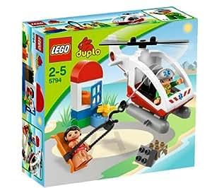 LEGO DUPLO 5794 - El Helicóptero de Emergencia