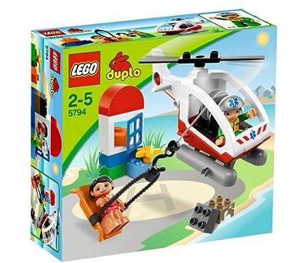 Amazoncom Lego Duplo Emergency Helicopter 5794 Toys Games