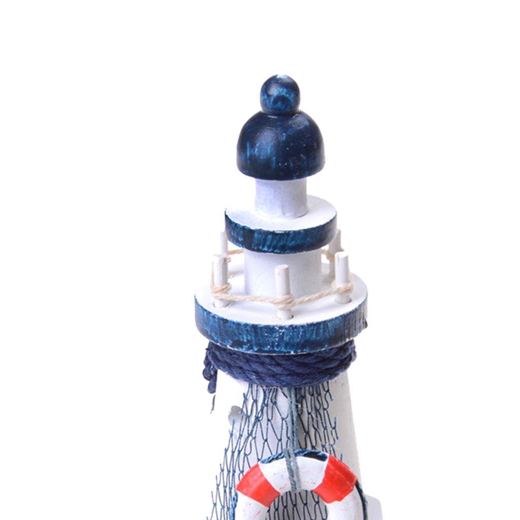14cm Gabbiani MagiDeal Portacandele Candelabro Lanterna Nautica Faro Artigianato Decorativo Regalo Natale