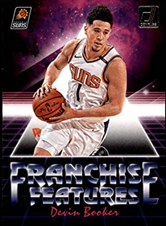 4b83cc4f 2018-19 Donruss Franchise Features #24 Devin Booker Phoenix Suns NBA  Basketball Trading Card