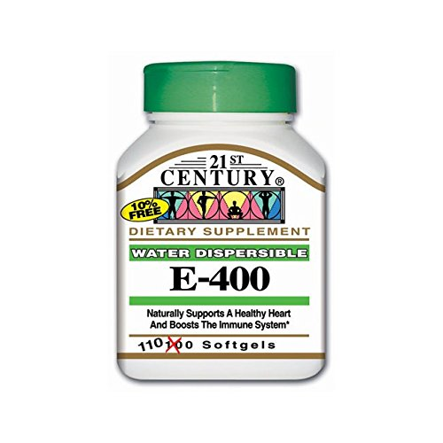 21st Century Water Dispersible Vitamin E-400 400 Iu 110 Sgels - 400 Iu Water