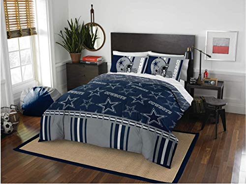 Dallas Cowboys NFL Queen Comforter & Sheets, 5 Piece NFL Bedding, New! + Homemade Wax Melts