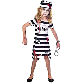 Zombie Halloween Costumes For Toddlers.Child Zombie Convict Costume Age 5 6 Years
