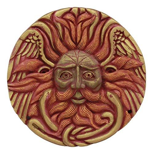 Ebros Oberon Zell Belenos Celestial Solar Radiant Celtic Sun God Round Wall Decor 5.25