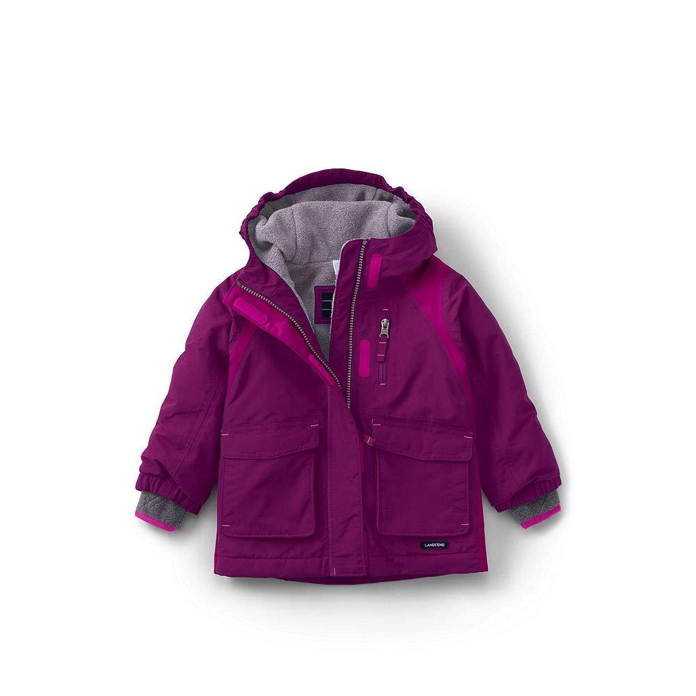Lands End Toddler Girls Squall Waterproof Winter Parka