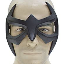 Nightwing Mask Superhero Black Resin Eye Mask Strap Grayson Cosplay Masquerade Adult