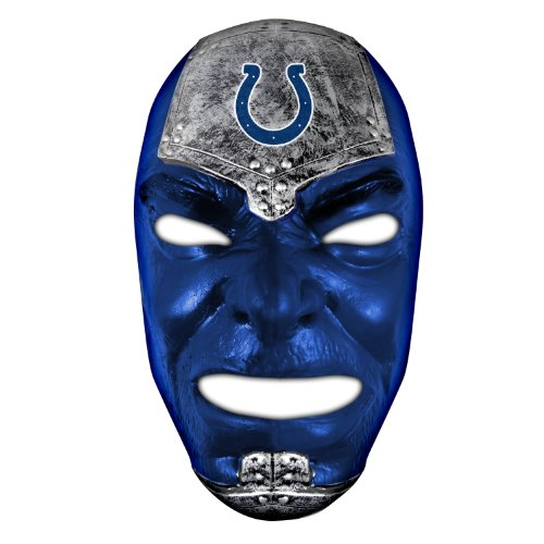 Franklin Sports NFL Indianapolis Colts Team Fan Face Mask ()