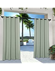 Exclusive Home Curtains In/Out In/Out Solid GT Panel Pair