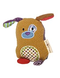 Mary Meyer Natural Life Baby Animal Plush Rattle, You Are Loved Puppy BOBEBE Online Baby Store From New York to Miami and Los Angeles