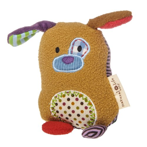 (Natural Life Baby Mary Meyer Animal Plush Rattle, You are Loved Puppy)