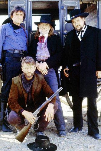 Johnny Cash Kris Kristofferson Willie Nelson Stagecoach TV Movie 24x36 Poster from Silverscreen