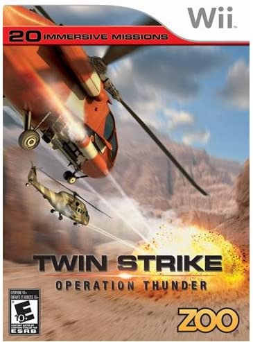 Twin Strike: Operation Thunder - Nintendo Wii: Artist Not     - Amazon com