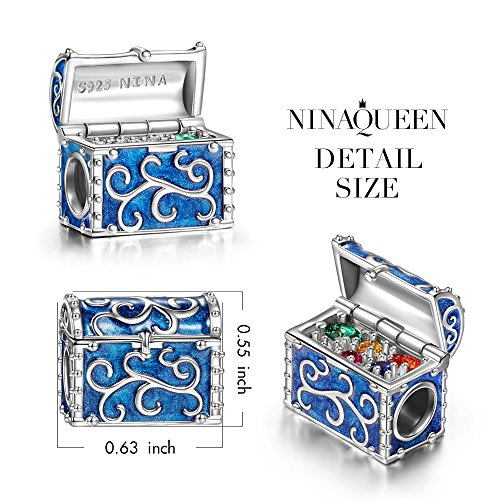 Ninaqueen Quot Treasure Chest Quot Mothers Day Gifts 925 Sterling