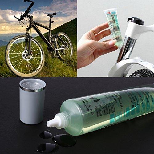 120 Ml Tester - GMSP 40ML/1.4 oz Bicycle Lubrication Oil, Motorcycle MTB Bike Front Fork Maintain Repairing Tools