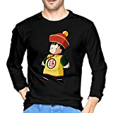 Guy's Dragon Ball Z Son Gohan Long Sleeve Funny Shirts offers