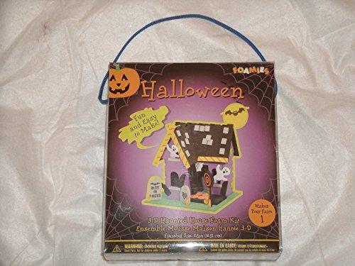 Haunted House 3-D Foam Kit (Foam Kit 3d)