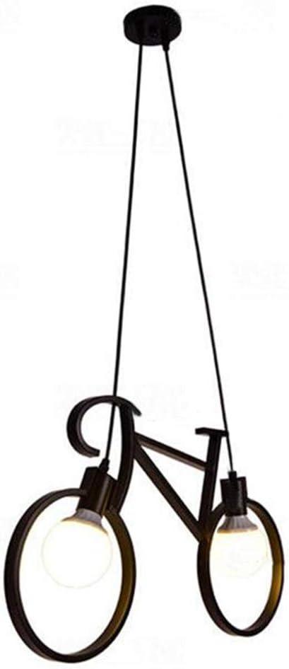 Araña De Luces Araña De Bicicleta De Hierro Personalidad Sala De ...