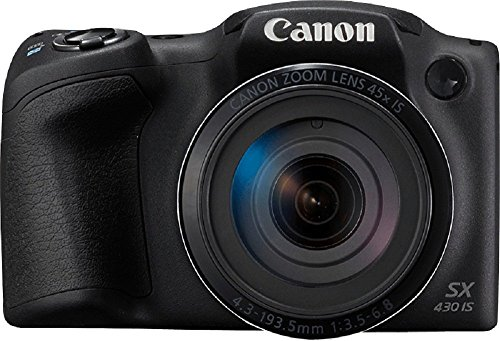 Canon PowerShot SX430 IS 20 MP Digital Camera