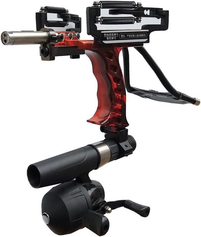 Pro Laser Hunting Slingshot Bow Archery Fishing Catapult Brace Wrist Arrow Rest