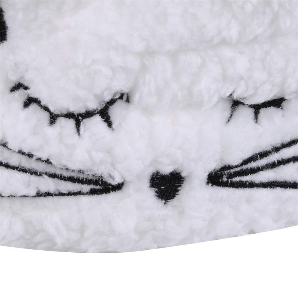 Lwanfei Reference description Beige decorazione casual Fascia per capelli con motivo a gatto