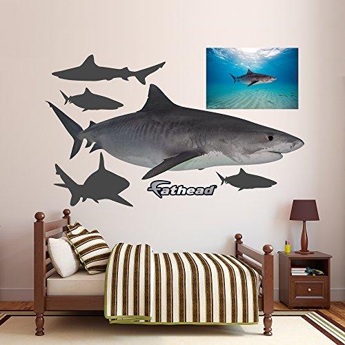 Fathead Tiger Shark Real Big Wall Decors