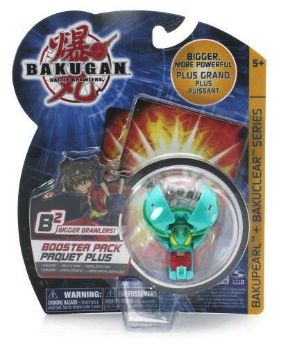 (Bakugan Battle Brawlers Bakupearl + Bakuclear Series, Bigger Brawler -