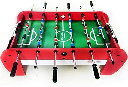 LiPengTaoShop Futbolín Mesa de fútbol Mesa de Juegos de Mesa de fútbol (Color : Red, Size : 97 * 54 * 35cm): Amazon.es: Hogar