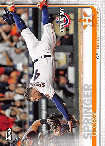 2019 Topps Opening Day #40 George Springer Houston Astros Baseball Card