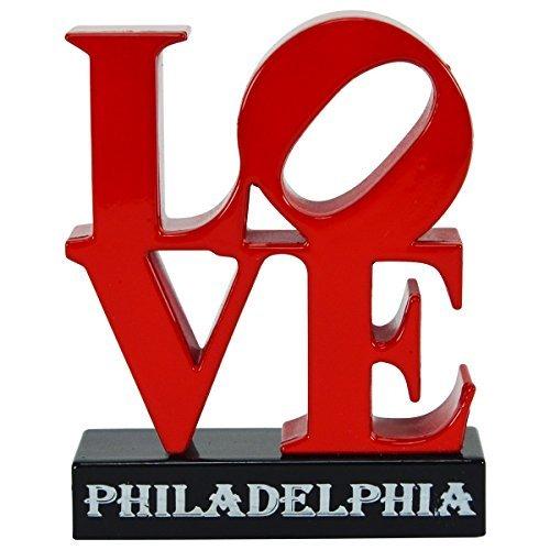 Keepsake Box Pennsylvania - TG,LLC JFK Plaza Philly Love Art Sculpture Miniature Die Cast Replica Pencil Sharpener