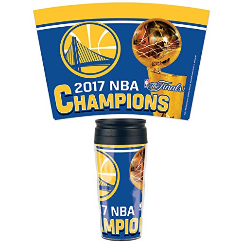 Nba Travel Mug - Golden State Warriors WinCraft 2017 NBA Finals 16oz. Contour Travel Mug
