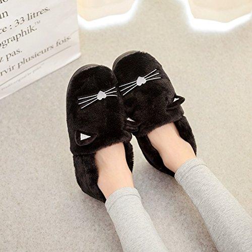Aemember zapatillas con zapatillas de mujer y zapatillas en invierno,42-43 44-45