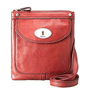 30b53348e152 Fossil Maddox Mini Crossbody Handbag Purse Red  Amazon.co.uk  Clothing