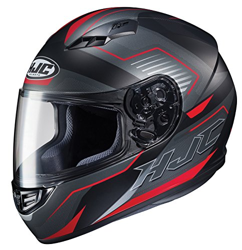 HJC Helmets Unisex-Adult Full-face-Helmet-Style CS-R3 Trion (Multi MC-1SF, Large) (Full Face 09 Helmet)