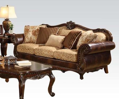 Cherry Fabric Sofa - 2