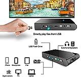 Wireless WiFi Projector HD 1080P with HDMI USB