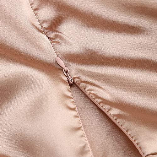 samLIKE Haute Femmes M Maxi Rouge Kaki S Solide Split Robes L Clubwear XL Soire Sexy Kaki Robe Robe Longues rpqwXnr5