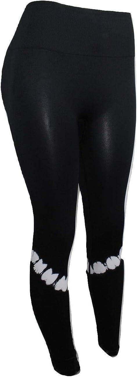 Details about  /Victoria's Secret Pink Cozy Leggings Logo On Ankle Black Size Small Euc