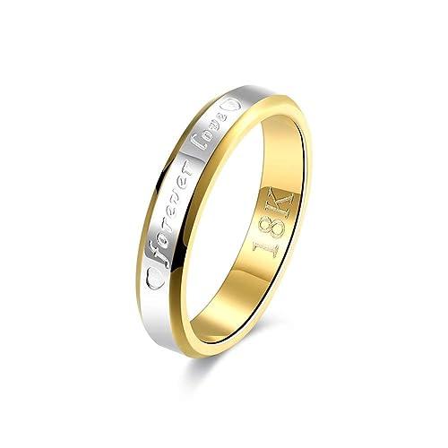 Anillo de compromiso elegante, anillo de moda para mujer, anillo romántico para mujeres y hombres, anillo de boda