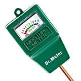 : [Soil Moisture Meter] Dr.meter Hygrometer Moisture Sensor for Garden, Farm, Lawn Plants Indoor & Outdoor(No Battery needed), S10