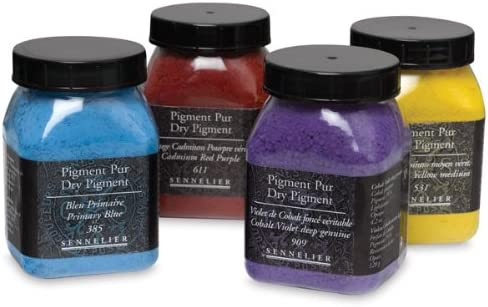 Sennelier Dry Pigment - 175 ml Jar - Cadmium Red Deep