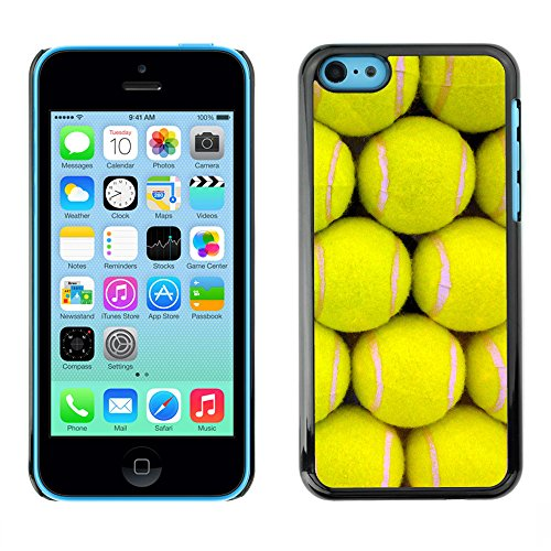Premio Sottile Slim Cassa Custodia Case Cover Shell // V00002436 Balle de tennis // Apple iPhone 5C
