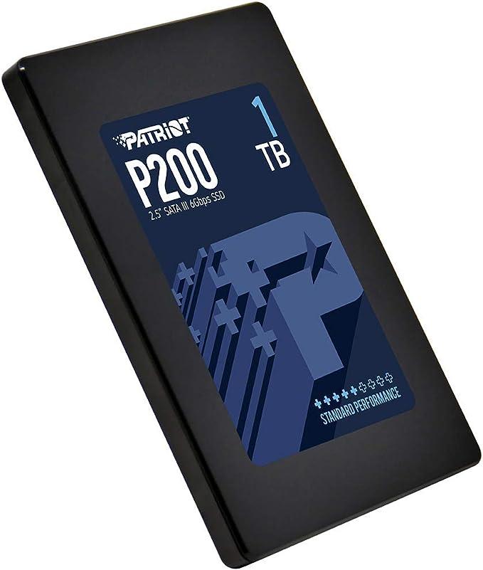 Patriot P200 Disco sólido Interno de 1 TB, SATA III SSD, con hasta ...
