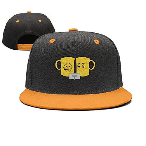 dfgfgm4jg Adjustable Beer Signs Cheer Trucker Hat Cool Street Dancing Cap