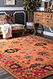 nuLOOM Montesque Hand Tufted Wool Rug, 4' x