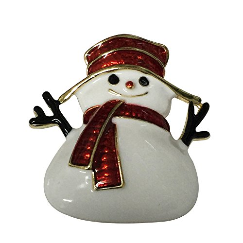 Vintage Look Snowman Pin