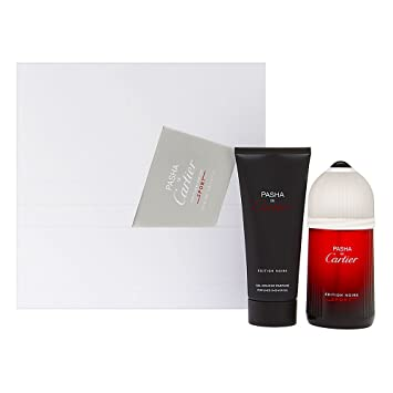 9bc1c68a0a0 Amazon.com  Pasha de Cartier Edition Noire Sport for Men 2 Piece Set  Includes  3.3 oz Eau de Toilette Spray + 3.3 oz Perfumed Shower Gel  Beauty