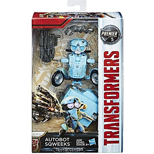 Transformers: The Last Knight Premier Edition Deluxe Autobot Sqweeks from Transformers