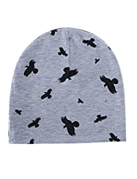 Baby Hat Cotton Cartoon Animal Printting Baby Caps For Boys And Girls