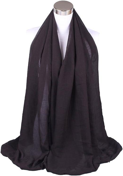 Wimagic - Pañuelo de algodón de lino para hombre y mujer, color ...