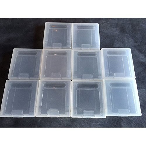 10 x For Nintendo Game Boy Color GBC Replacement Plastic Cartridge Case Dust Cover